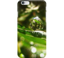 The Sunny Side of Dewdrops iPhone Case/Skin