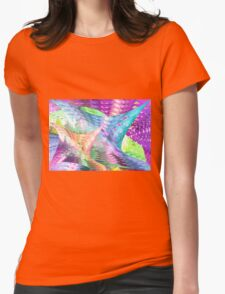 Colors 83 Womens Fitted T-Shirt