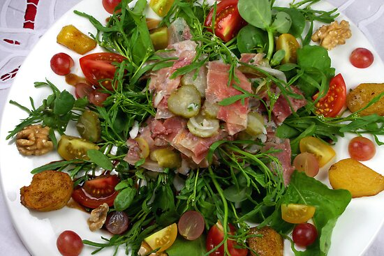 Vintager's Ox Muzzle Salad by SmoothBreeze7