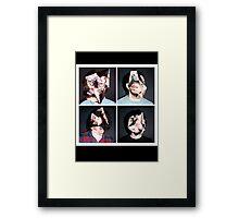 Born Ruffians Framed Print