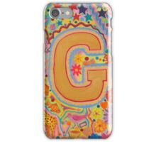 Initial G iPhone Case/Skin