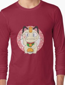 Maneki meowth Long Sleeve T-Shirt