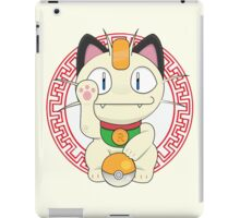 Maneki meowth iPad Case/Skin