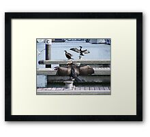 One  wing and a prayer Framed Print