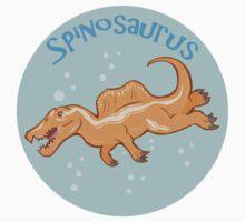 Cute Spinosaurus Kids Clothes