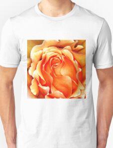Orange Frilly T-Shirt