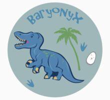 Cute Baryonyx Kids Tee