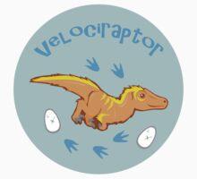 Cute Velociraptor One Piece - Long Sleeve