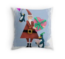 Christmas Present Throw Pillow