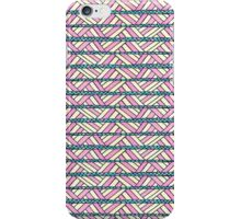 basket case summer folk pattern iPhone Case/Skin