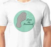 Save The Manatees! Unisex T-Shirt