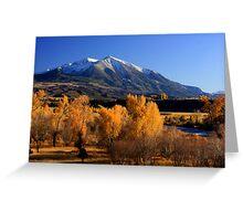 Mt. Sopris Greeting Card