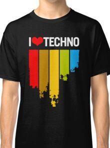 I Love Techno Classic T-Shirt