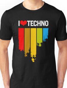 I Love Techno Unisex T-Shirt