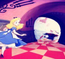 Alice & The Rabbit Sticker