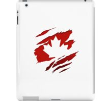 Canada Red Leaf iPad Case/Skin