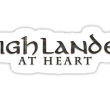 Highlander at Heart (Outlander series) Sticker