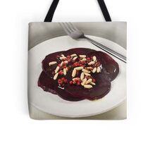 Red Beetroot With Pink Pepper and Pine Nut Vinaigrette Tote Bag
