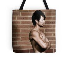 Hunky Muscle Man Tote Bag