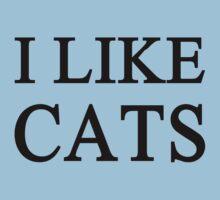 I Like Cats Baby Tee