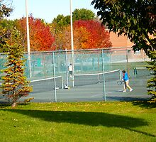 A Little Tennis Anyone? by MarianBendeth