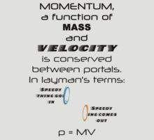Momentum - Mass and Velocity T-Shirt