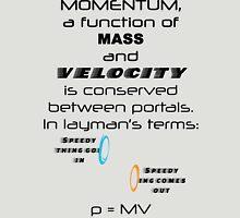 Momentum - Mass and Velocity Unisex T-Shirt
