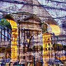 """to Rome from Fiumicino by Antonello Incagnone """"incant"""""""