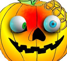 Happy Halloween  Pumkin T Sticker