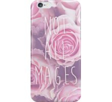 Hipster Not All Mages iPhone Case/Skin