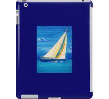 St Martin Sailing in the Caribbean iPad Case/Skin