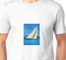 St Martin Sailing in the Caribbean Unisex T-Shirt