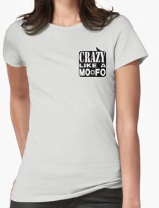 CRAZY MOFO:  BKWH Womens Fitted T-Shirt