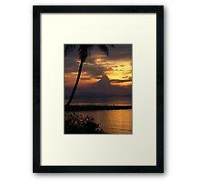Pure Shores Framed Print
