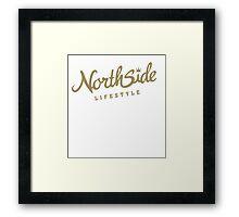 Northside Gold Crown Framed Print