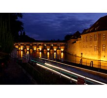 Night Moves @ Strasbourg Photographic Print