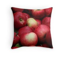 My  eco-friendly   apples from my apples plantation  Throw Pillow