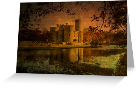 Textured Chateau, Haute Vienne, France by Bob Culshaw