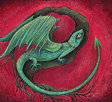 baby dragon by melaniedann