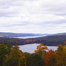 Quabbin in Fall by Anne Smyth