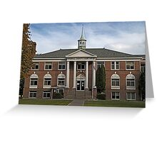Mineral County Court House Greeting Card