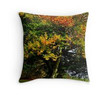 Changing Tree Throw Pillow