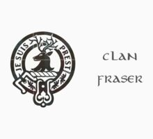 Je Suis Prest - Crest of Clan Fraser (Outlander series) Kids Tee