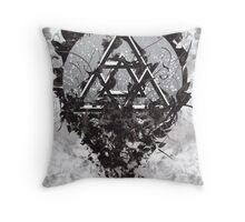 Omega Code Throw Pillow