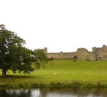 Alnwick Castle. by Onions