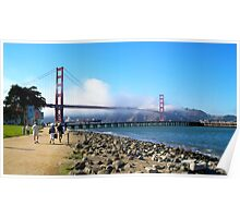 Magnificent Golden Gate Poster