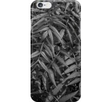 Black and White Leaves iPhone Case/Skin