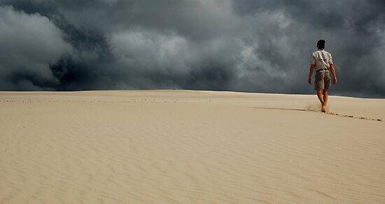 Sand Dune Storm by Andy  Christopherson