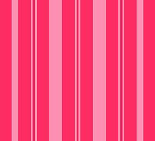 Pink Stripes by WanderingMuse
