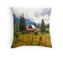 Life On The Mountain Throw Pillow